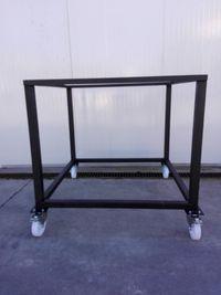 carrinho Para forno lenha rodas
