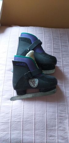 Buty z łyżwami , rozmiar 28-29