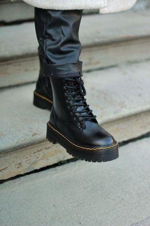Женские ботинки Dr. Martens. Премиум кожа! Супер цена! Мартинсы. Осень