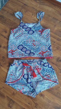 Piżama spodenki plus koszulka