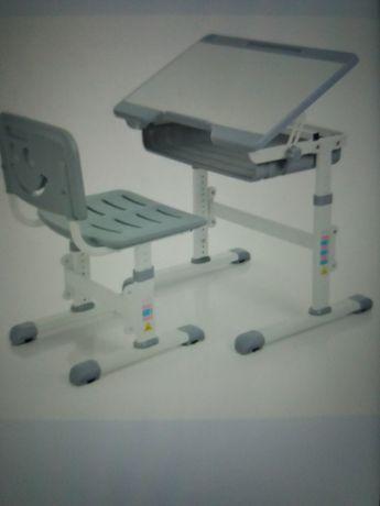 Парта детская регулируемая школьный стол письменный нов Ростишка