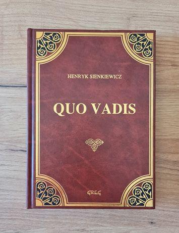 Książka Quo Vadis Henryk Sienkiewicz wydawnictwo Greg