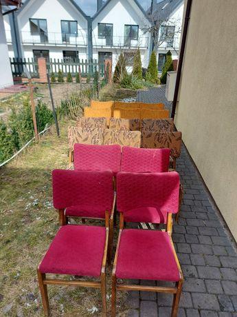 Krzesła Hałasy Motylki