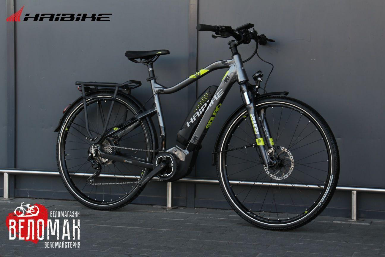 Электровелосипед Haibike SDURO TREKKING 4.0. Cube Giant Scott Orbea GT