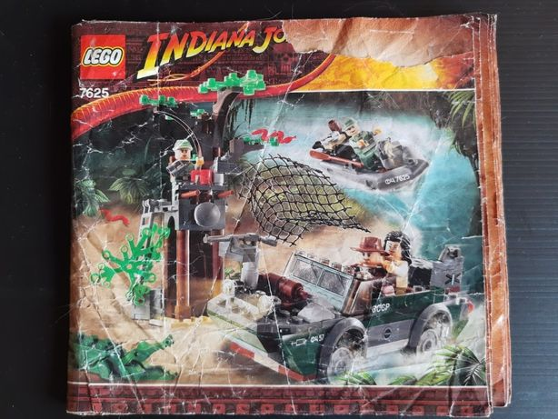 LEGO Indiana Jones 7625 - Obława w rzece (River Chase)
