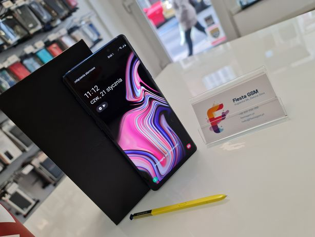 Samsung Galaxy Note 9, 6GB/128GB, Dual SIM, Ocean Blue.