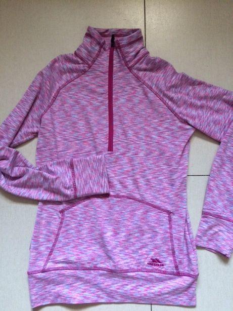 Bluza sportowa Trespass różowy melanż rozmiar XS