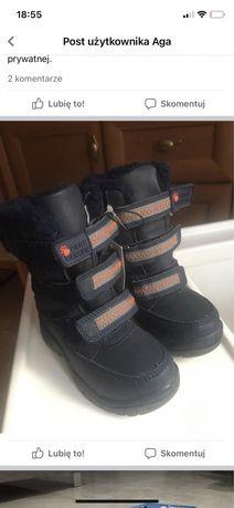 Buty zimowe 24 dla chłopca
