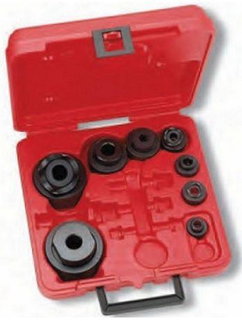 Jogo 8 Perfuradores Redondos Hidráulicos FORZA várias medidas