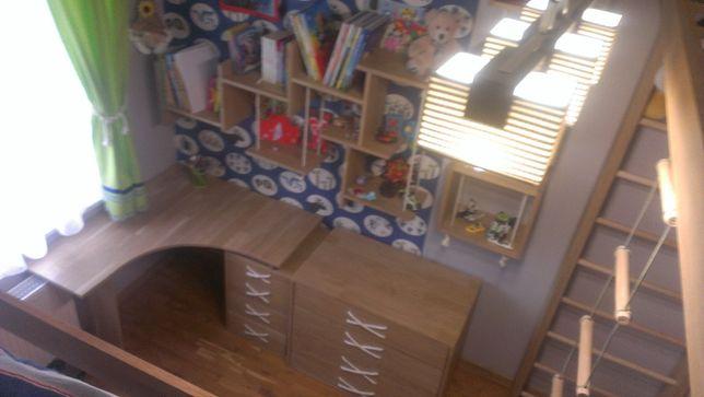 Дизайнерская детская комната мебель кровать, стол, шкаф