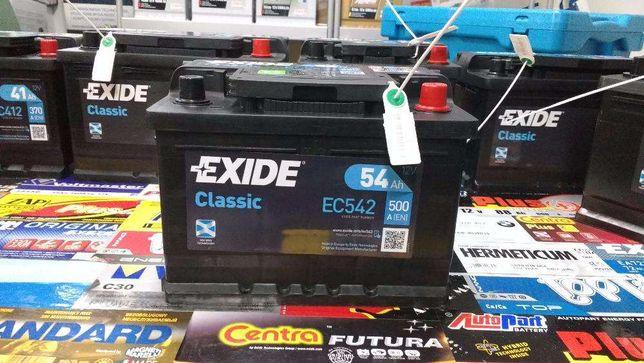 Akumulator Exide Classic EC542 12V 54Ah 500A P+ Kraków Ford CC542