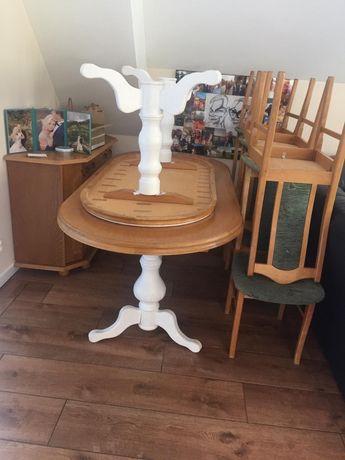 Stół do jadalni i Stolik kawowy komplet krzeseł 12