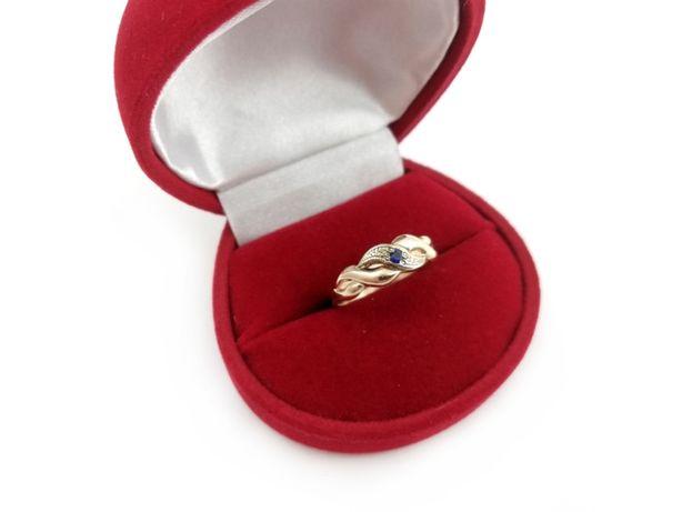 Złoty pierścionek z CYRKONIĄ 585 2,23G R14