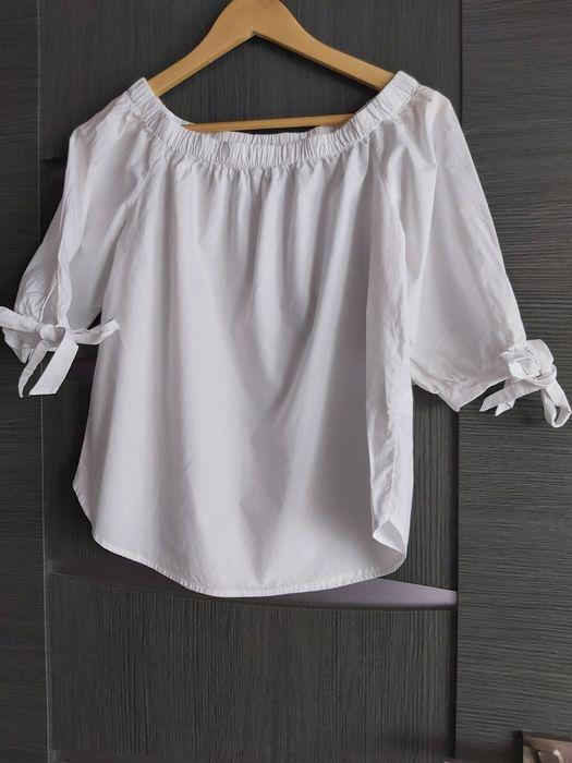 Biała bluzeczka H&M Bierna - image 1