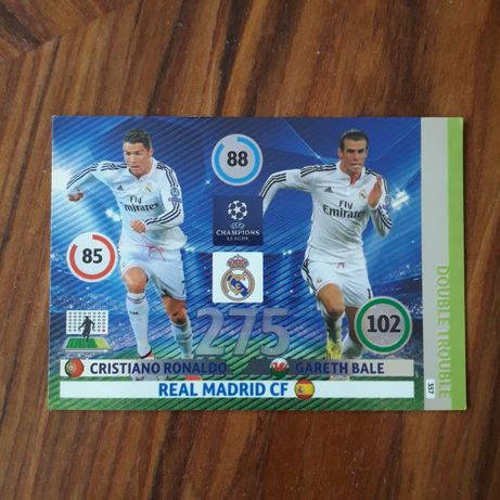 Carta / card Cristiano Ronaldo / Bale