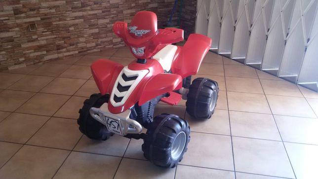 Moto 4 elétrica + bicicleta