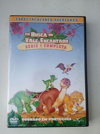 DVD Série 1: Em busca do vale encantado