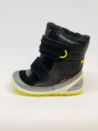 Зимние ecco скидка 25% новые 22 ботинки сапожки сапоги черевики