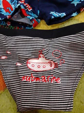 Плавки для купания на мальчика детские набор