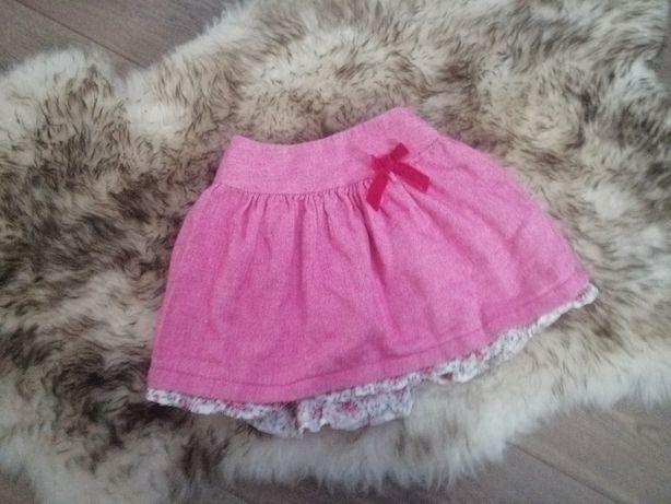 Spódniczka 98-104 mini mode różowa spodniczka
