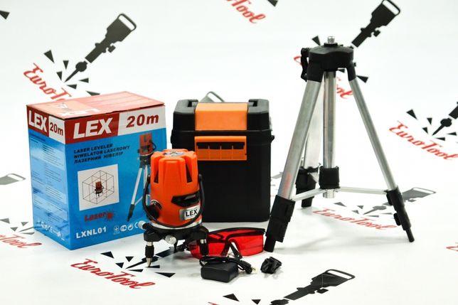 Лазерный уровень, планировщик, (нивелир), дальномер LEX LXNL01+ ШТАТИВ
