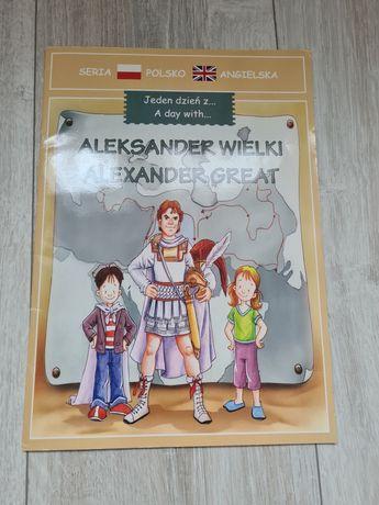 Alexander Wielki Great Książka dla dzieci angielski polski