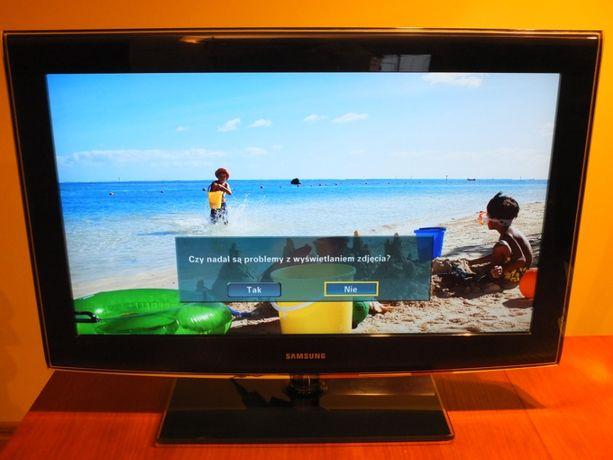 "TV SAMSUNG 32"", Pilot, Instrukcja, 100% sprawny"