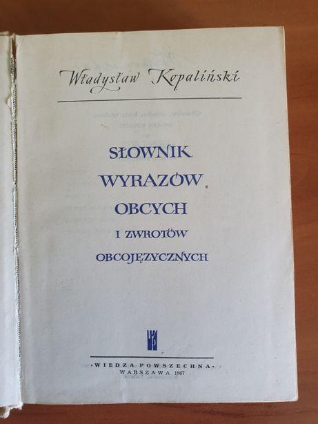 Prl Słownik wyrazów obcych i zwrotów obcojęzycznych Kopaliński