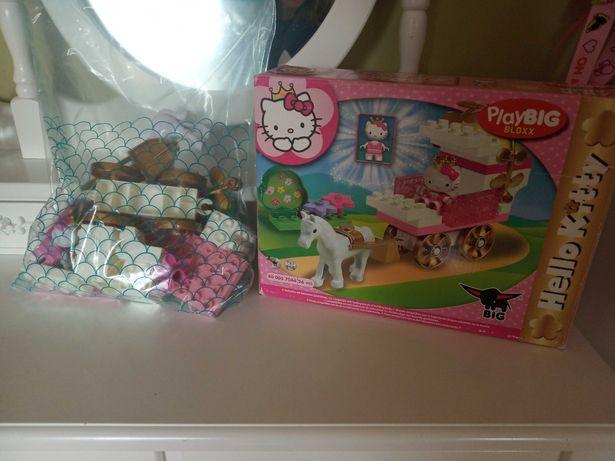 PlayBIG BLOXX, Hello Kitty, kompatybilne z Lego Duplo, stan idealny