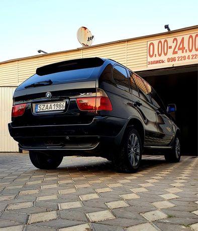 BMW X5, 3.0d, Черная на черном, идеал, торга нет!!!