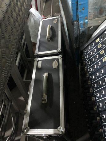 Skrzynia Rockcase, Flightcase 4U, Hardcase 2 sztuki TANIO
