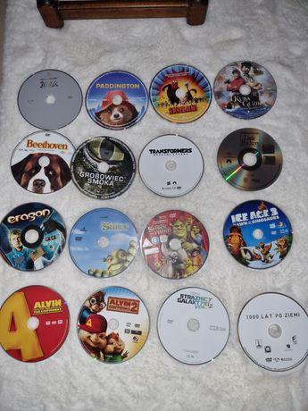 Bajki, filmy dla dzieci zestaw 16 plyt