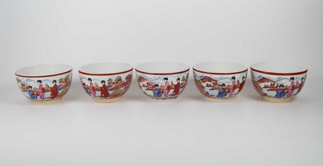 5 taças em porcelana Vista Alegre