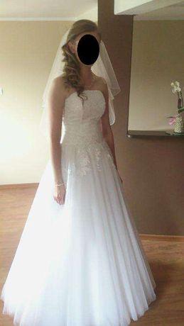 Suknia ślubna princess marietta rozmiar 38 suknie Piękna OKAZJA