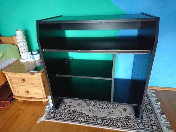 Biurko stolik komputerowy Czarne