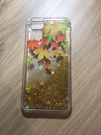 Etui case iPhone 8 plus brokatowe/ glitter liquid
