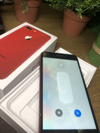 IPhone 8 Plus + 64 Red neverlock Original Гарантия 3 мес Магазин