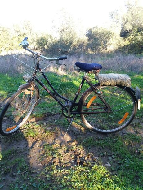 Bicicleta antiga promoção