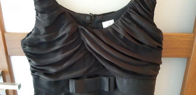 H&M sukienka czarna rozm 44