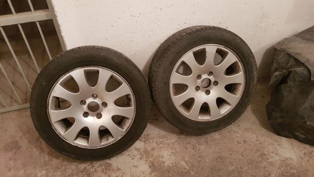 Opony letnie z felgami Alu do Audi