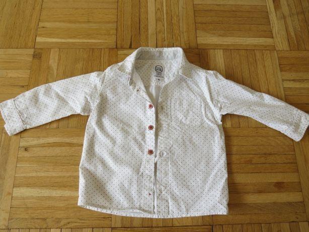 Białą koszula Cool Club rozm 86