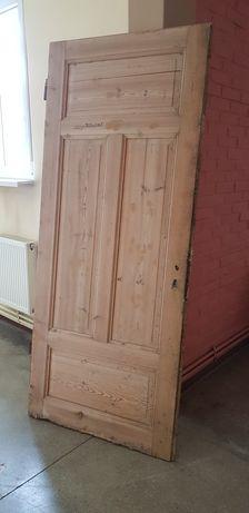 Drzwi stare drewniane 90,5x216,5