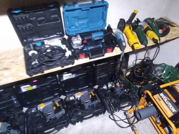 DeWalt Bosch narzędzia wkrętarki