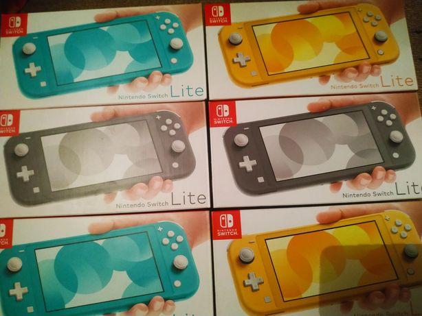 Nintendo switch lite grey приставка