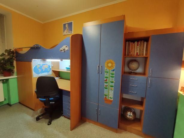 Стенка Юниор детская (подростковая) мебель+кровати для двоих детей