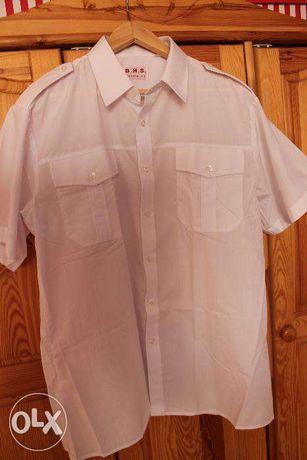 biała koszula męska XL