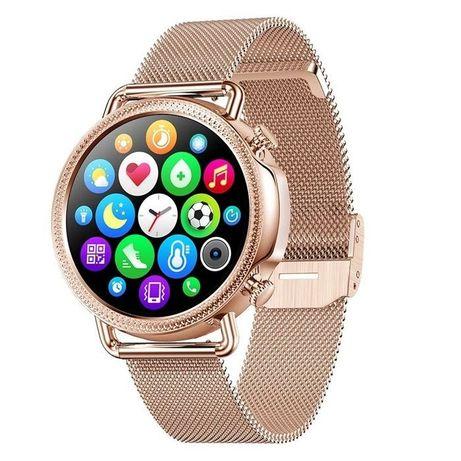 Смарт-часы женские Lemfo V25 Gold