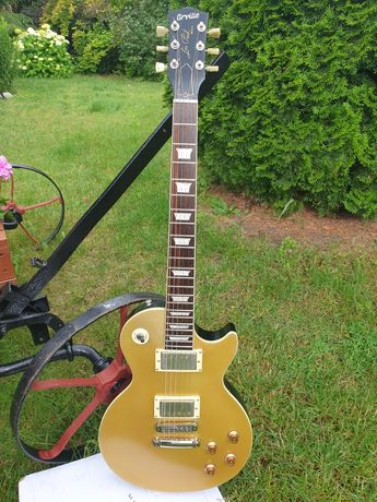 Gitara Orville by Gibson Gold Top. Japan, Japonia. 1988r.