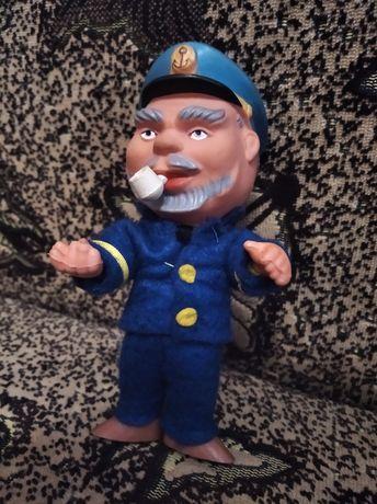 Копытко капитан кукла ГДР