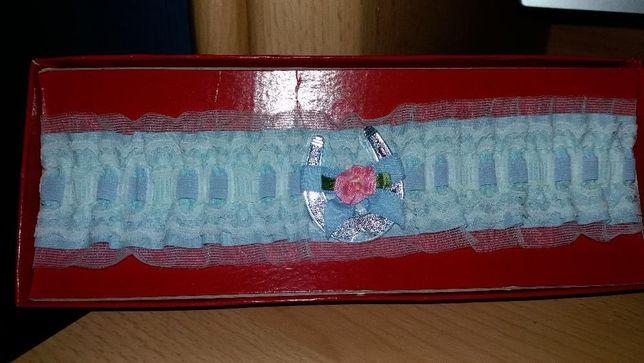 Оригинальные подвязки на ножку невесты. Цена снижена!